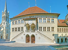 The City Hall of Berne Stock Photography