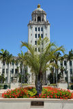 City hall of the Beverly Hills Stock Photography