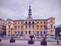 City Hall of Bilbao Royalty Free Stock Images