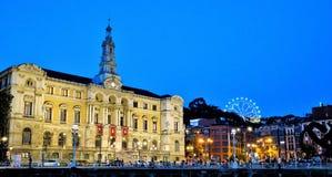 City Hall, Bilbao, Spain. Fotost filmed in 2018. stock images