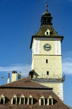 City Hall of Brasov. The tower of old city hall of Brasov Stock Photography