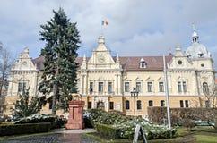 The City Hall of Brasov City (Primaria orasului Brasov). Royalty Free Stock Photo