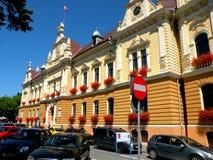 City Hall in Brasov (Kronstadt), Transilvania, Romania Royalty Free Stock Image
