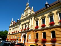 City Hall in Brasov (Kronstadt), Transilvania, Romania Royalty Free Stock Photos