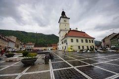 City Hall in Brasov Stock Photos