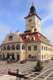 City hall of Brasov, Romania Royalty Free Stock Images