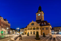 City hall in Brasov, Transylvania Royalty Free Stock Photos