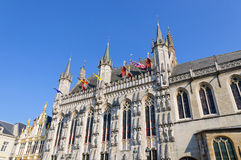 City Hall of Bruges, Belgium Royalty Free Stock Photos