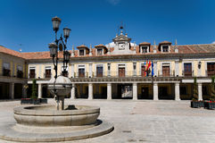 City Hall of Brunete. Madrid, Spain Royalty Free Stock Photography
