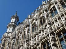 The city hall of Brussels in Belgium Stock Photography