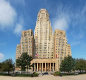 City hall in Buffalo Stock Photo