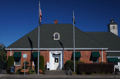 City Hall Building. Small quaint City Hall building in a small town in America Stock Photos