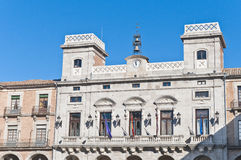 City-hall building at Avila, Spain Stock Image