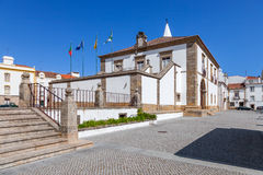 City Hall building of Castelo de Vide. Royalty Free Stock Images