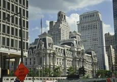City Hall Building from Philadelphia in Pennsylvania USA Royalty Free Stock Image