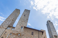 City-hall building in San Gimignano, Italy Royalty Free Stock Photos
