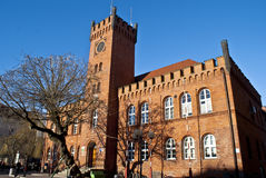 City Hall Building in Szczecinek - Poland Royalty Free Stock Images