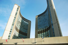 City Hall Building in Toronto, Canada Royalty Free Stock Photo