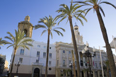 City Hall of Cadiz. Stock Photos