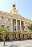 City Hall of Cadiz, Andalusia, Spain Royalty Free Stock Photography