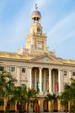 City hall of Cadiz, Spain Royalty Free Stock Images