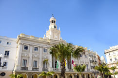 City Hall Cadiz Spain Royalty Free Stock Image