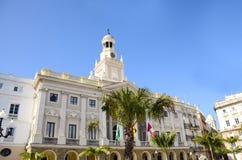 City Hall Cadiz Spain Royalty Free Stock Image