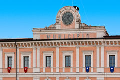 City Hall of campobasso. Italy Royalty Free Stock Photography