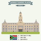 City Hall. Cape Town. South Africa royalty free illustration