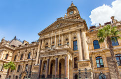 City Hall in Cape Town. South Africa Royalty Free Stock Images
