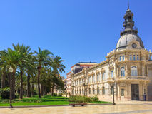 City hall of Cartagena in Spain Royalty Free Stock Images