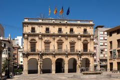 City hall of Castellon Stock Images