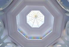 City hall ceiling Stock Photo