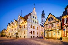 City Hall of Celle, Germany stock photography