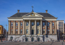 City hall in the center of Groningen. Holland Stock Photography
