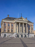 City hall in the center of Groningen Royalty Free Stock Photos
