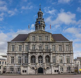 City hall on the central market square in Maastricht Royalty Free Stock Images