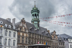 City Hall on the central square in Mons, Belgium. Royalty Free Stock Photography
