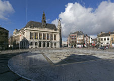 The City Hall, Charleroi, Wallonia, Belgium Royalty Free Stock Photos