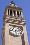 City Hall Clock Tower Royalty Free Stock Photos