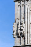 City Hall of Cologne. Illustrious citizens statues on the facade of the City of Cologne, Germany Stock Photos