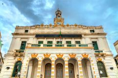 City hall of Constantine, a French colonial bulding. Algeria stock photo