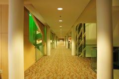 City hall corridor Stock Photo