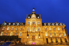 City Hall in Coutances Stock Photography