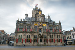 City Hall of Delft Royalty Free Stock Images