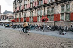 City Hall of Delft Stock Photo