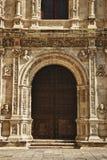 City Hall, door, Seville. Public door at Seville city Stock Images