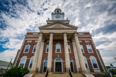 City Hall, in Dover, New Hampshire. Royalty Free Stock Photos