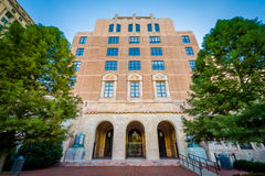 City Hall, in downtown Asheville, North Carolina. Royalty Free Stock Photo