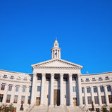 City Hall in downtown of Denver Stock Photo